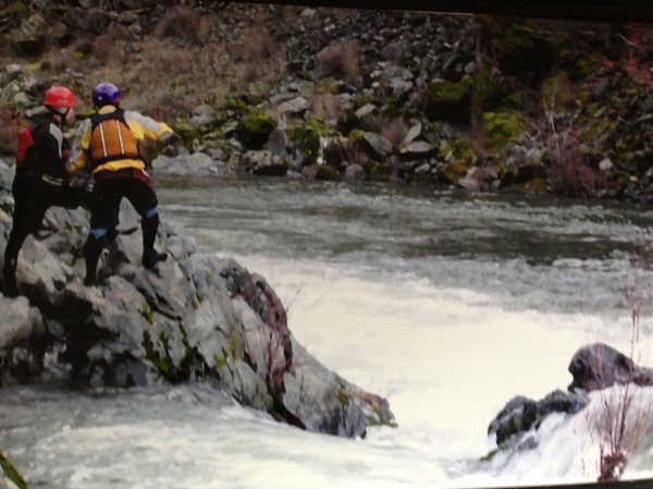 """Some might question the logic of rafting class IV rapids in the middle of nowhere in the middle of winter in a tiny little boat -- and to those people we say, """"no, YOU'RE stupid!"""""""